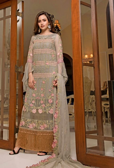 Cataleya Chiffon Collection by Iqra Reza-CA01