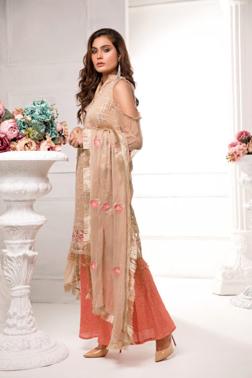 Cataleya Chiffon Collection by Iqra Reza A4 - wishcart.in