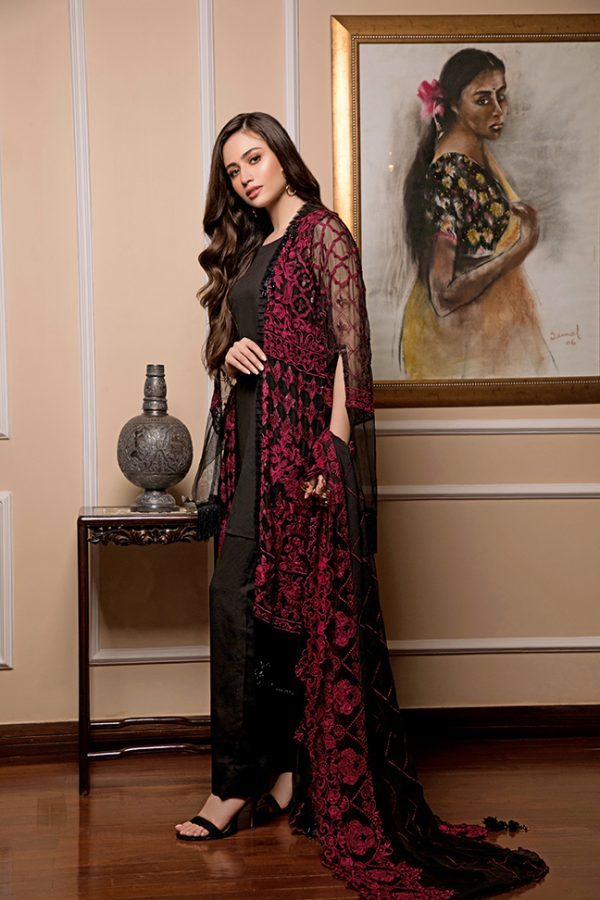Cataleya Chiffon Collection by Iqra Reza A5 - wishcart.in