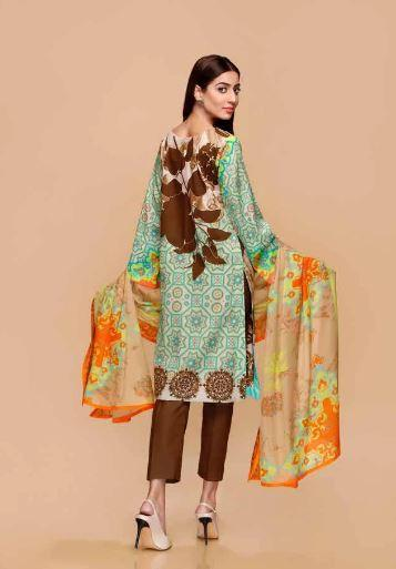 wishcart-Pakistanisuits-Charizma Yellow Spring and Summer Lawn Suits 2020-03B