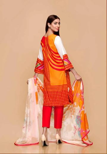 wishcart-Pakistanisuits-Charizma Yellow Spring and Summer Lawn Suits 2020-04A
