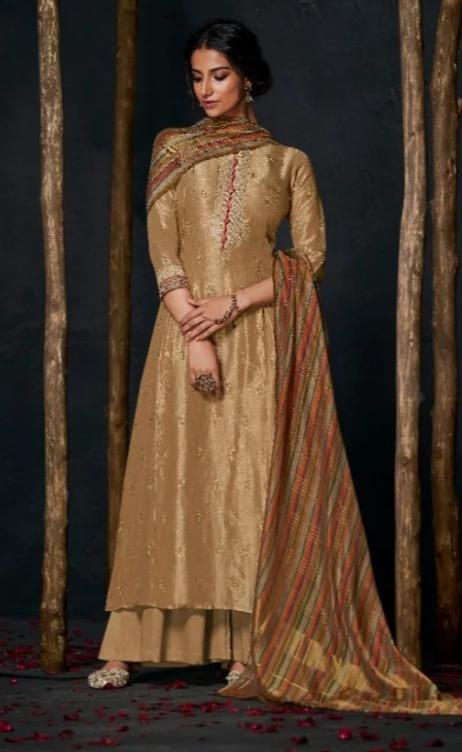 wishcart-Indiansuits-Aloha Bemberg Silk Suits By Jay Vijay - D2101