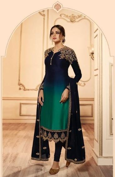 wishcart-Indiansuits-LT Nitya Vol-145 Collection 2019 D-4503