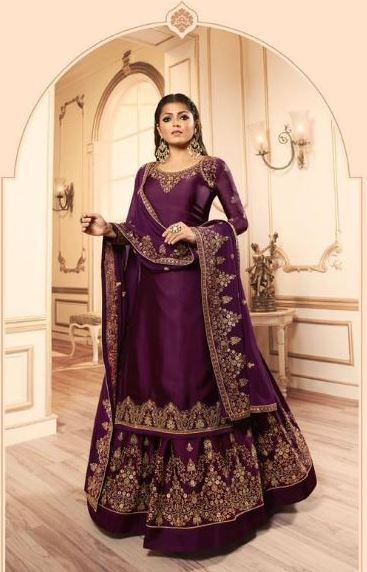 wishcart-Indiansuits-LT Nitya Vol-145 Collection 2019 D-4505