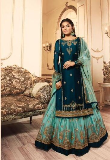wishcart-Indiansuits-LT Nitya Vol-145 Collection 2019 D-4506