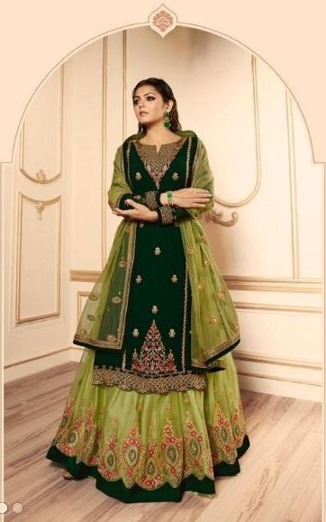 wishcart-Indiansuits-LT Nitya Vol-145 Collection 2019 D-4509