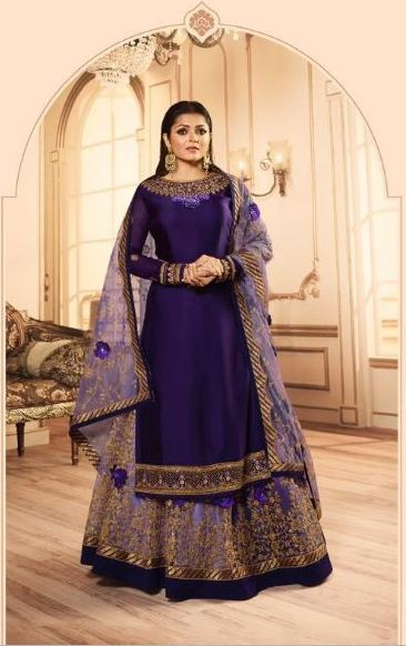 wishcart-Indiansuits-LT Nitya Vol-145 Collection 2019 D-4501