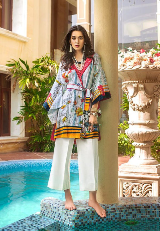 wishcart-Pakistani suits-Gul Ahmed Luxury Shaleen Digital Satin 2019 Collection-DCSS05