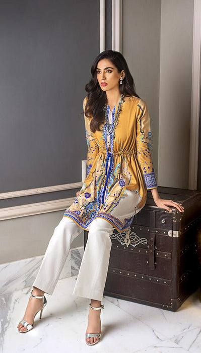 wishcart-Pakistani suits-Gul Ahmed Luxury Shaleen Digital Satin 2019 Collection-DCSS12