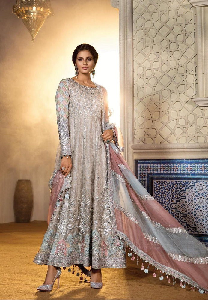 wishcart-Pakistanisuits-Maria B. Wedding Dresses 2019-1805-Cappuccino Moonlight
