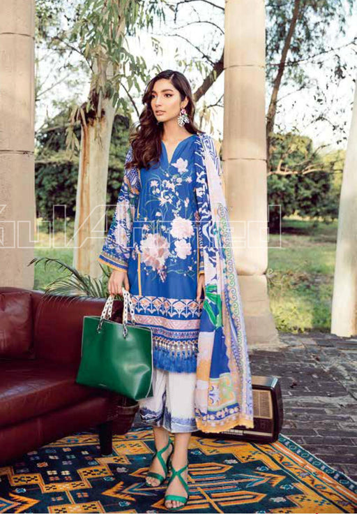 wishcart-Pakistanisuit-Gul Ahmed Summer Basic Lawn Dress 2020 - CL-914