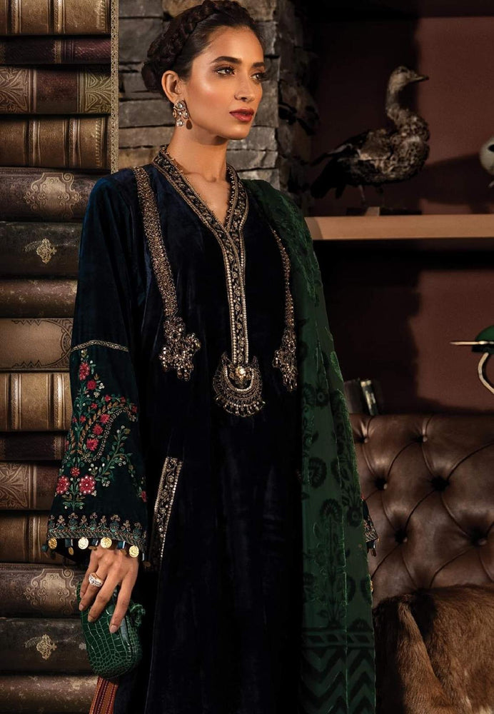 wishcart-Pakistnaisuits-Linen La Vie Luxe Winter Dresses '19 By MARIA.B-DL-711