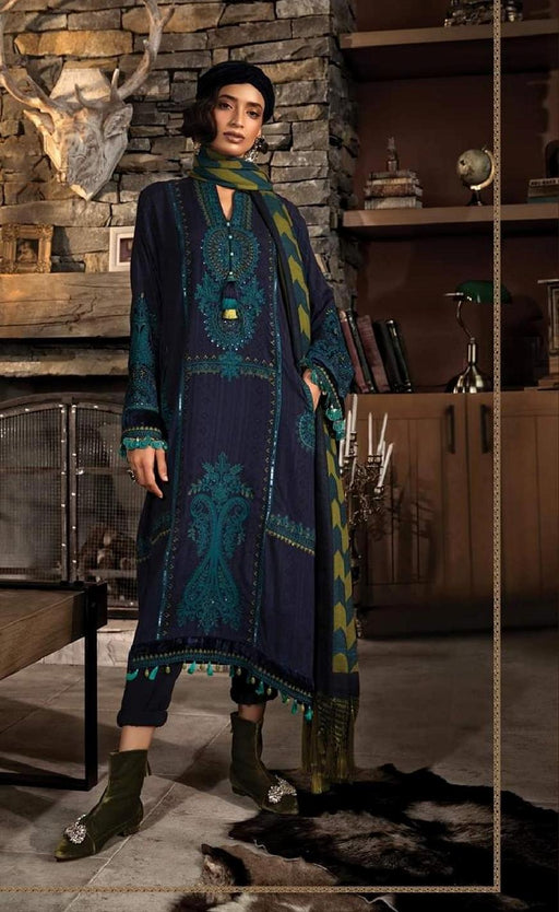 wishcart-Pakistanisuits-Linen La Vie Luxe Winter Dresses '19 By MARIA.B-DL-703