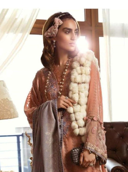 wishcart-Pakistanisuits-Linen La Vie Luxe Winter Dresses '19 By MARIA.B-DL-705