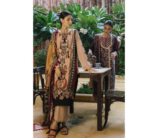 wishcart-Pakistanisuits-Qalamkar Qline Linen Collection 2019 QLA06