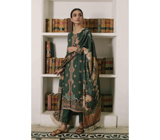 wishcart-Pakistanisuits-Qalamkar Qline Linen Collection 2019 QLA10