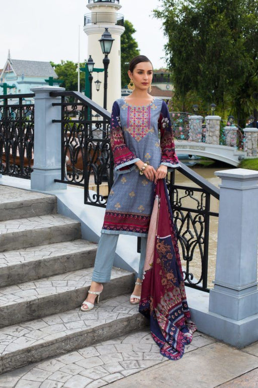 wishcart-Pakistanisuits-Sahil Embroidered Volume 2 Suit-1A