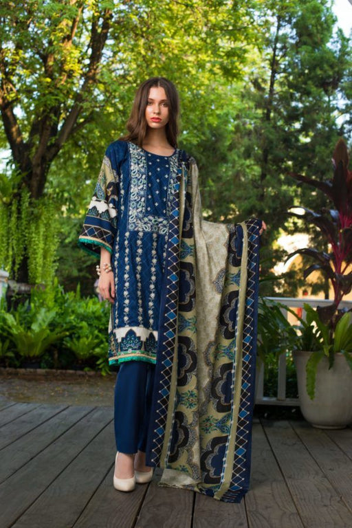 wishcart-Pakistanisuits-Sahil Embroidered Volume 2 Suit-2A