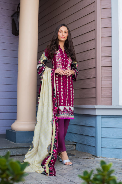 wishcart-Pakistanisuits-Sahil Embroidered Volume 2 Suit-2B