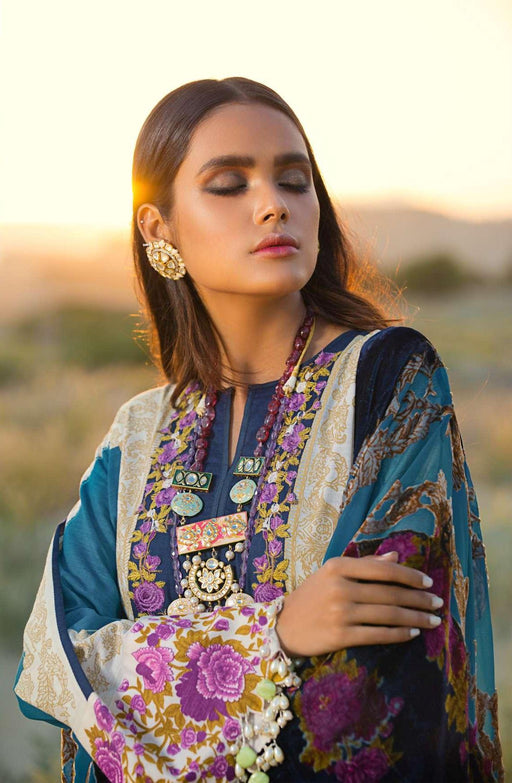 wishcart-Pakistaniusits-Winter Shawl Collection 2019 by Sana Safinaz-SS19WSC-2A