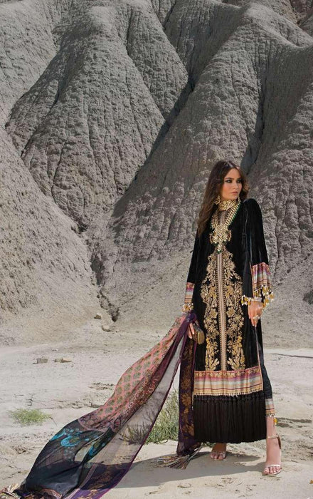 wishcart-Pakistaniusits-Winter Shawl Collection 2019 by Sana Safinaz-SS19WSC-6B