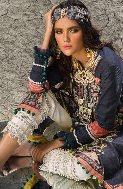 wishcart-Pakistaniusits-Winter Shawl Collection 2019 by Sana Safinaz-SS19WSC-8B