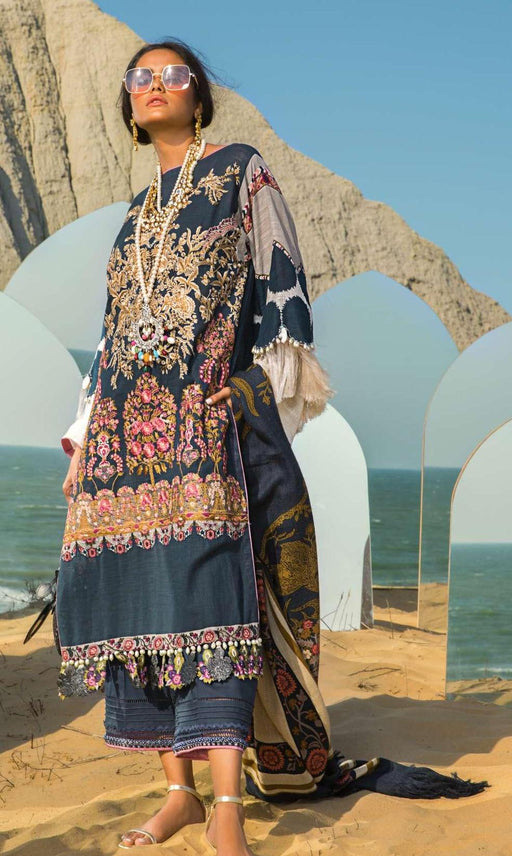 wishcart-Pakistaniusits-Winter Shawl Collection 2019 by Sana Safinaz-SS19WSC-9B