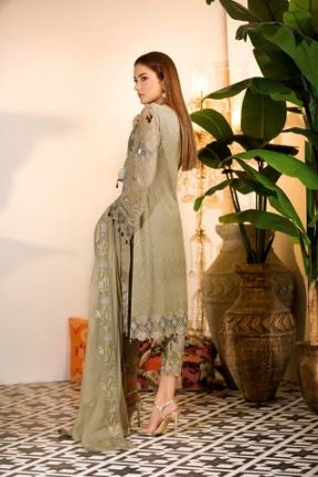 wishcart-Ramsha Chevron Chiffon  Wedding  Collection RAMCWCA109 2