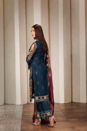 Wishcart-Pakistanisuits-Ramsha Vol 17 Verve Collection 2019 F-1703 2