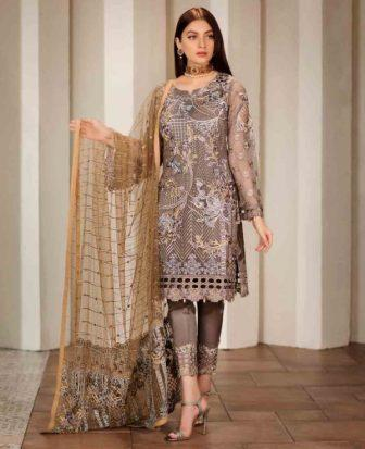 Wishcart-Pakistanisuits-Ramsha Vol 17  Verve Collection 2019 F-1701