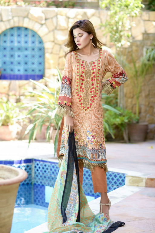 Wishcart-Pakistanisuits-Ayesha Chottani Embroidered Collection 2019-O5B