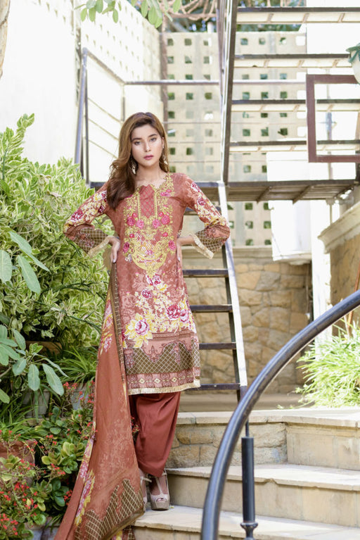 Wishcart-Pakistanisuits-Ayesha Chottani Embroidered Collection 2019-O4B