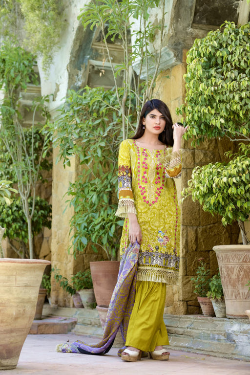 Wishcart-Pakistanisuits-Ayesha Chottani Embroidered Collection 2019-O5A