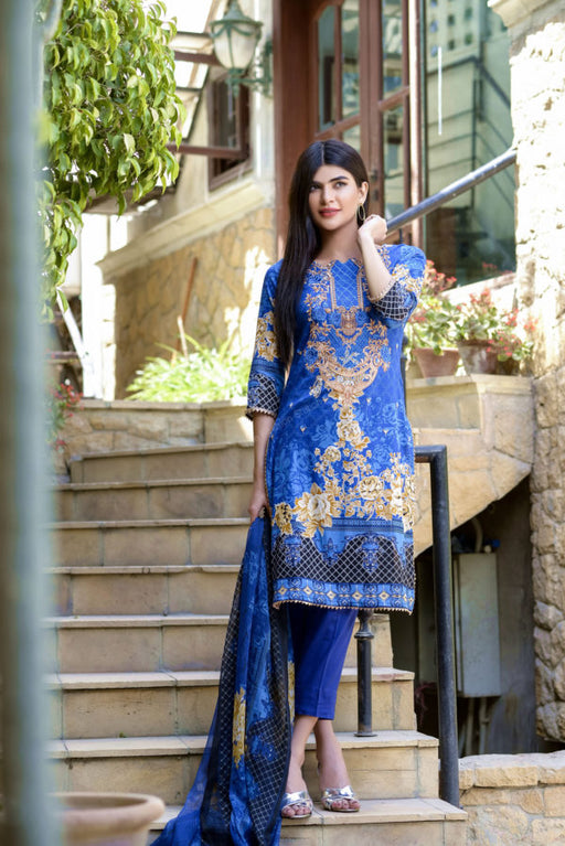 Wishcart-Pakistanisuits-Ayesha Chottani Embroidered Collection 2019-O4A