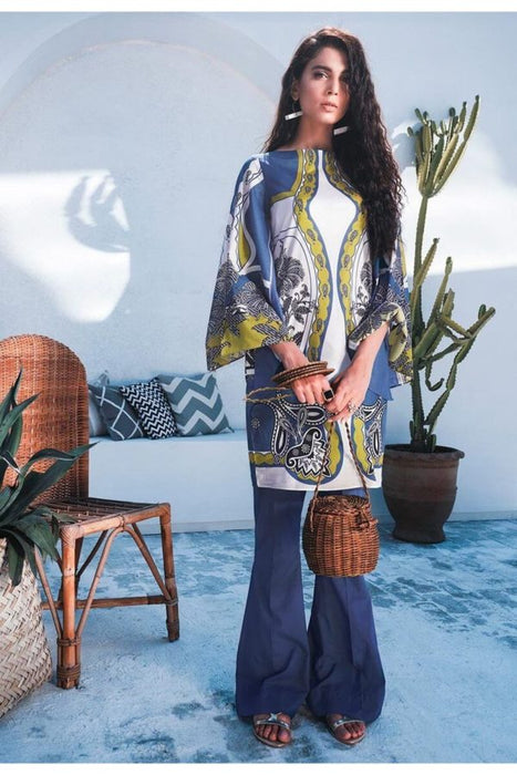 wishcart-pakistanisuits- Cross Stitch Toile Summer Lawn Collection 2019 D1