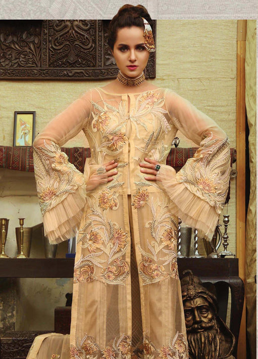 Wishcart-Pakistanisuits-EmbRoyal Majestic Vol-5 Collection 2019 IMPERIAL KHAKI 01