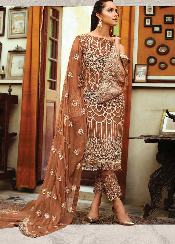 Wishcart-Pakistanisuits-EmbRoyal Majestic Vol-5 Collection 2019 BRONZE GLAMOUR 07