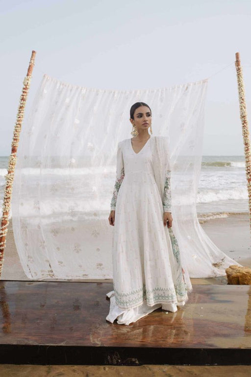 wishcart-Zara Shahjahan Luxury Lawn Collection 2019  CHANDNI-A10
