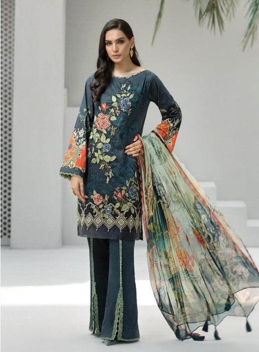 Wishcart-Pakistanisuits-Iris Lawn by Jazmin Vol 2 2019 Collection TIANA 2