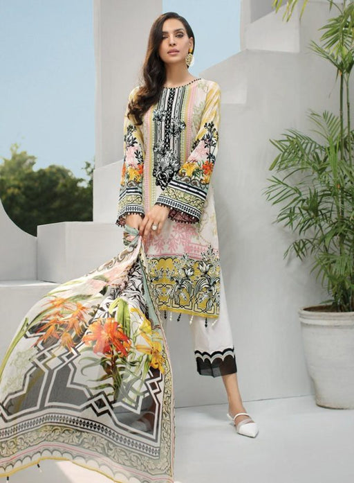 Wishcart-Pakistanisuits-Iris Lawn by Jazmin Vol 2 2019 Collection ARCADIA 3