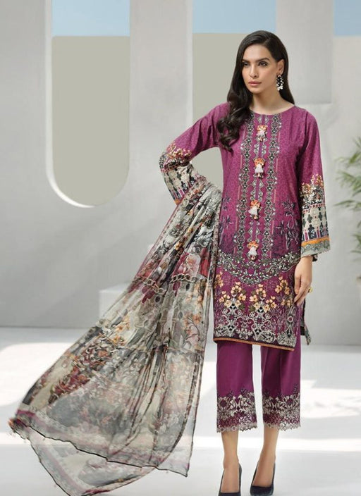 Wishcart-Pakistanisuits-Iris Lawn by Jazmin Vol 2 2019 Collection GRAPEVINE 4