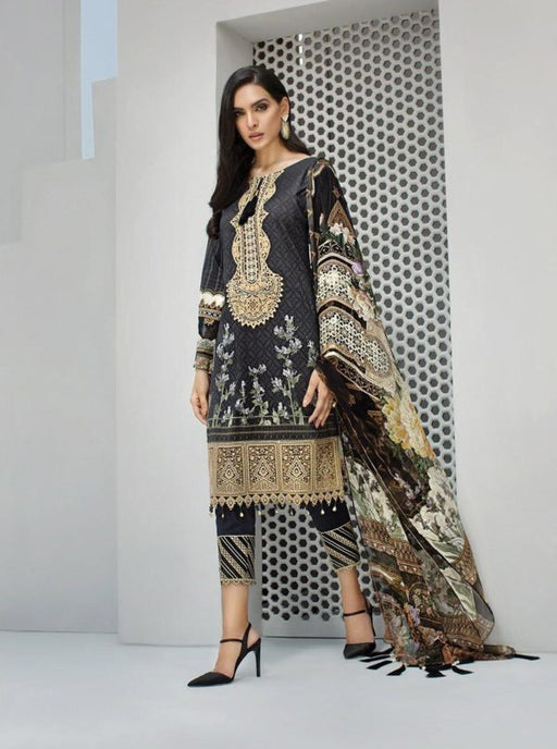 Wishcart-Pakistanisuits-Iris Lawn by Jazmin Vol 2 2019 Collection DELIA NOIR 6