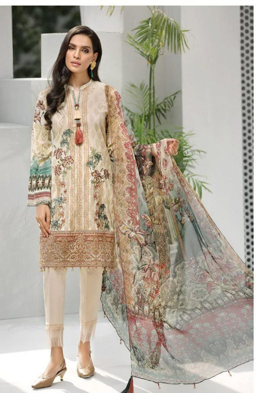 Wishcart-Pakistanisuits-Iris Lawn by Jazmin Vol 2 2019 Collection AMELIA 8
