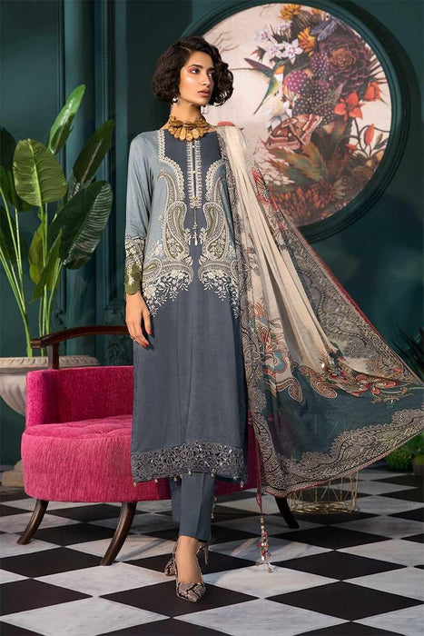 wishcart-Pakistanisuits-MARIAB Mprints Fall Winter 2019 MPT-703-A