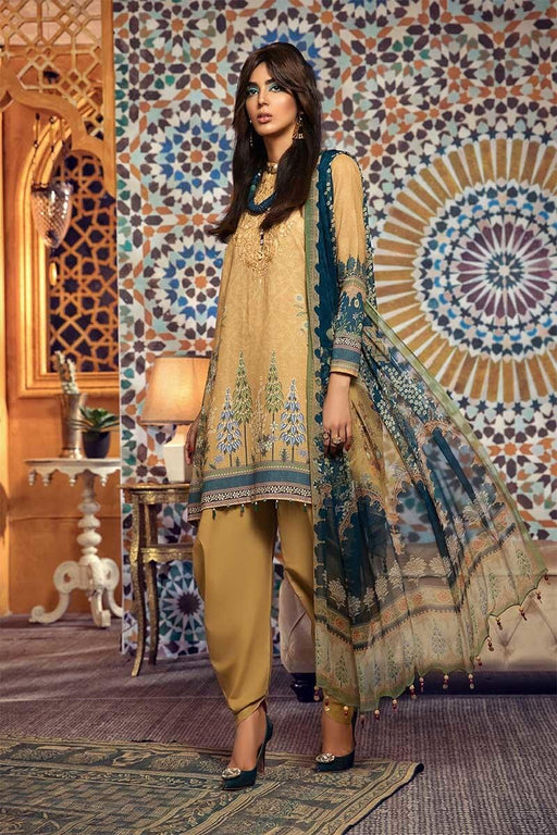 wishcart-Pakistanisuits-MARIAB Mprints Fall Winter 2019 MPT-705-A
