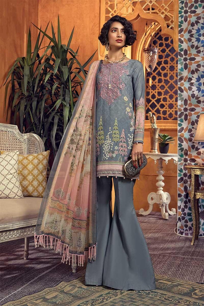 wishcart-Pakistanisuits-MARIAB Mprints Fall Winter 2019 MPT-705-B