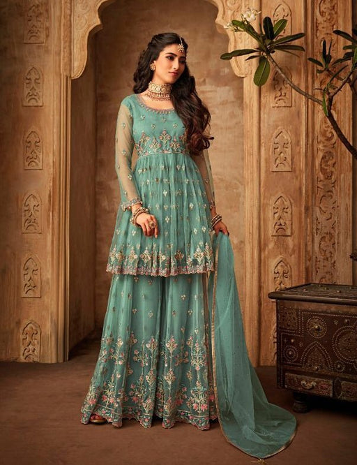 Mohini Glamour Vol 71 Party Wear Net Embroidered Dress - 71001
