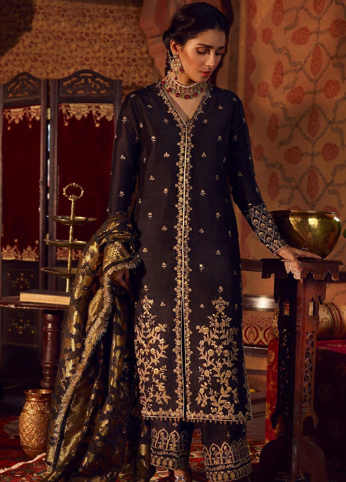 Qalamkar X Faiza Saqlain Wedding Dresses 2019