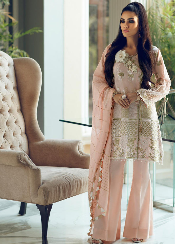 Wishcart-Pakistanisuits-Rouche Embroidered Chikankari Luxury Collection '19 Pearl Shine 02
