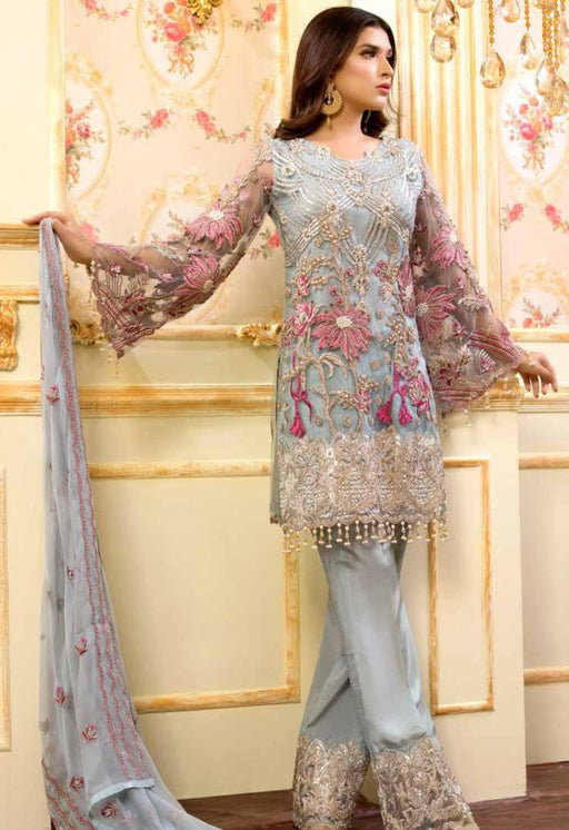 Wishcart-Pakistanisuits-Shamrock Premium Wedding Chiffon 2019 Collection 704